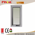 2016 latest window grill design Australia standard double glazed awning window