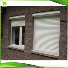 European style good quality aluminum rolling shutter window