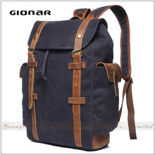 High Capacity School ODM Private Label Plain Color Backpack