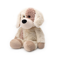 Plush dog toy wholesale white stuffed plush puppy
