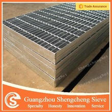 Serrated bar grating various specification steel grating for stair