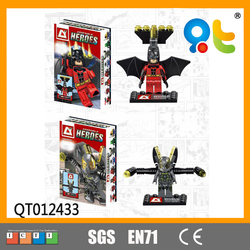 3D model kids toys educational heroes series brick toys for kids