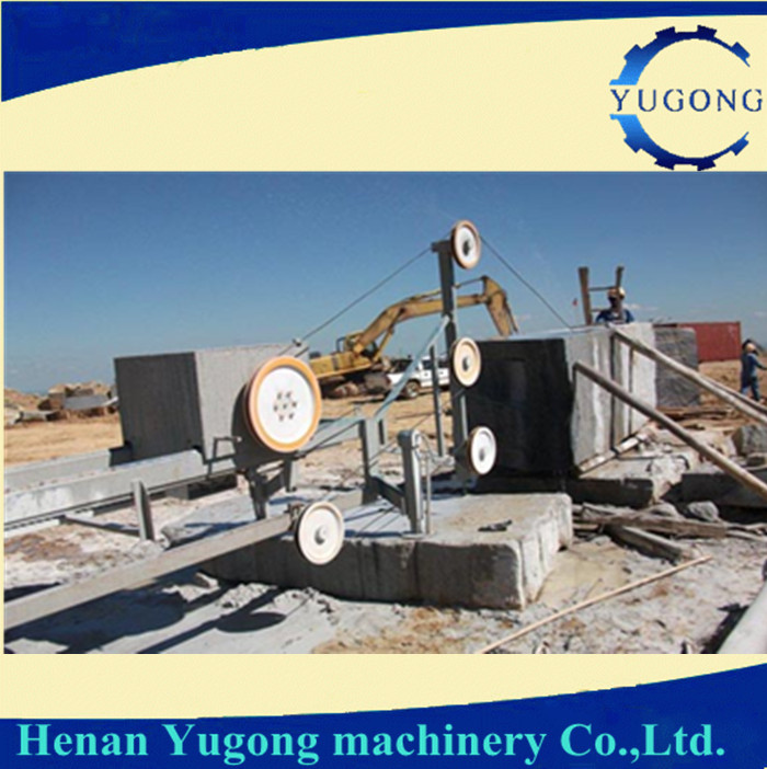 Diamond wire saw for rock cutting machine from China in good price