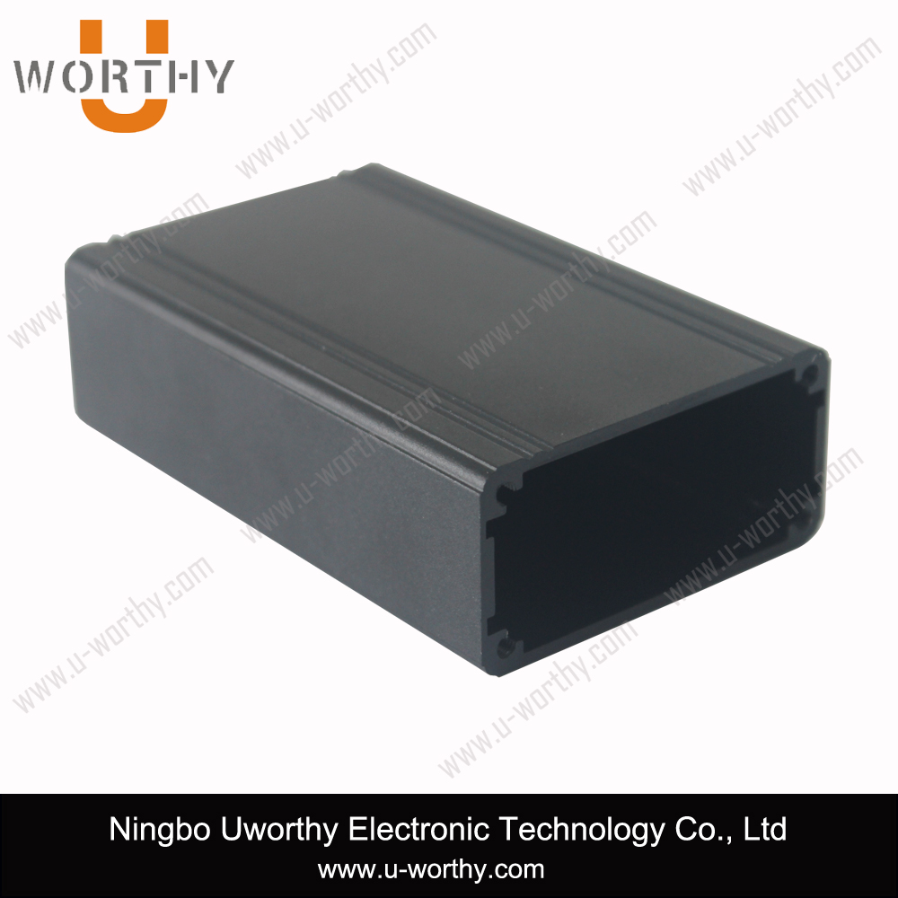 High Quality Low Price Al 6063 Material Aluminum Extrusion Enclosure with PCB Slots for Electronic Device