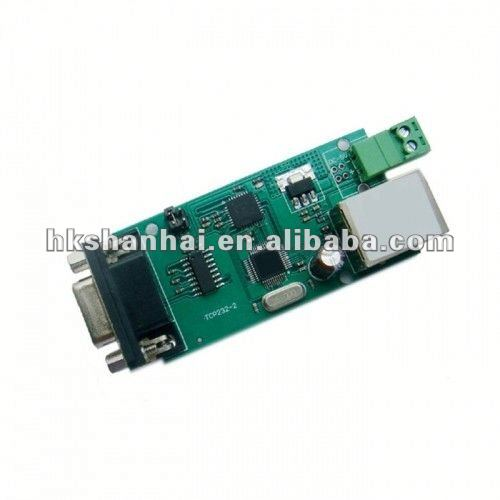 Serial RS232 to Ethernet TCP IP converter module RS232 to ethernet
