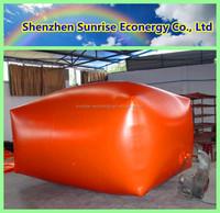 Sunrise econergy 3-100m3 PVC membrane biodigestor biogas for animal waste