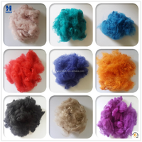 Dope Dyed Textiles Recycled Polyester Staple Fiber