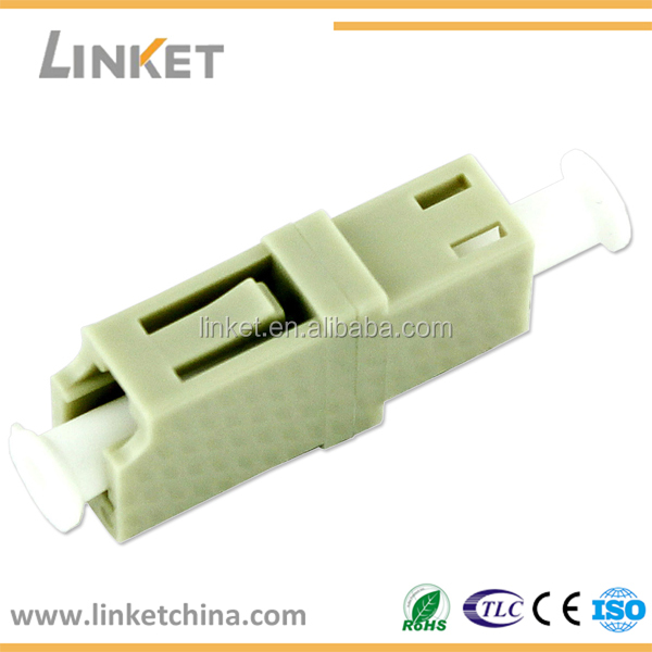 Fiber Optic LC/UPC Simplex Duplex Adapter