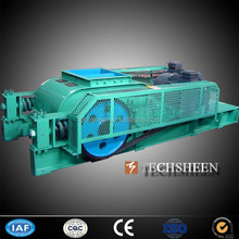 Techsheen 2PGG Double Roller Limestone Sandstone Grinding Crusher in Construction Industry