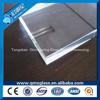 low iron extra clear/ white glass