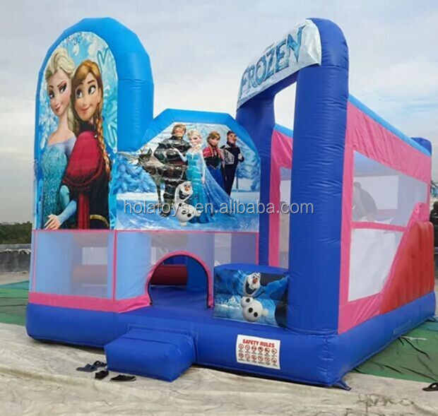 Hola frozen bouncy castle for kids