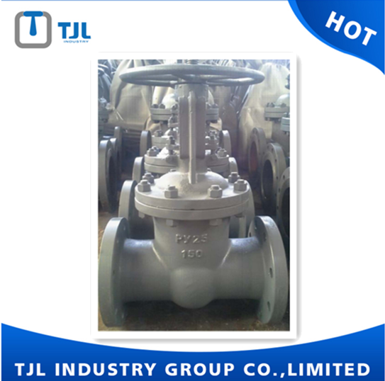 Casting carbon steel gate valve for water,oil and gas Gost standard PN16
