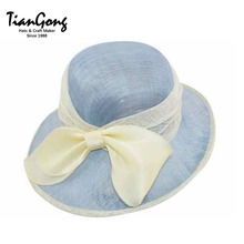 Factory Directly Provide Made In China Excellent Material New Sinamay Hat