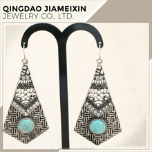 Fashion Handmade Lightweight Tibetan Hook Dangler Earrings