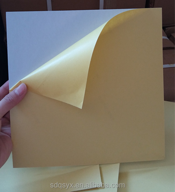 Self adhesive pvc sheet for making photo album inner pages