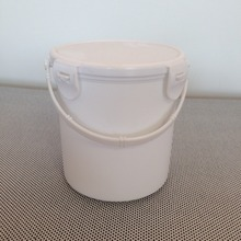 1L white small cheep special unbreakable plastic pails