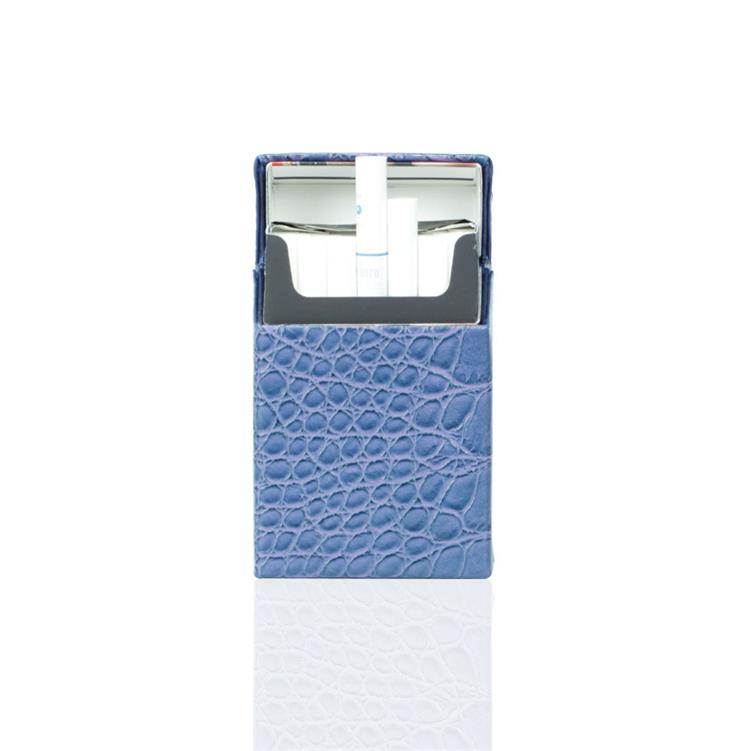 China manufacturer Leather slim cigarette case