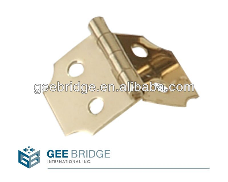Miniature Hardware Solid Brass Hinge