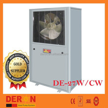 air source floor type air conditioner small heat pump water heater for domestic comercial use