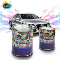 KINGFIX Brand Good gloss acrylic paint manufacturers with high-performance hardener