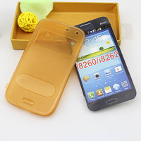 Flip brushed tpu case for samsung galaxy core i8260