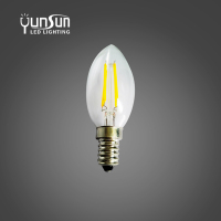 400lm e14 c35 led bulb printer filament
