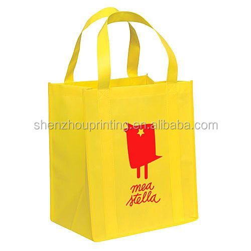 Promotional good quality cheap custom print foldable carry laminated non woven wine gift bag, bottle bag, pp non woven beer bag