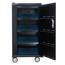 Safety Charging Cabinet in Office Classroom Charge Smatphone Tablet 64 Port Charging Cabinet