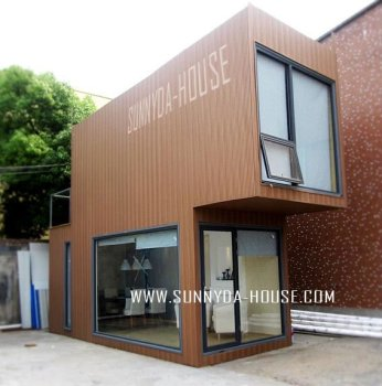 Shipping container container house