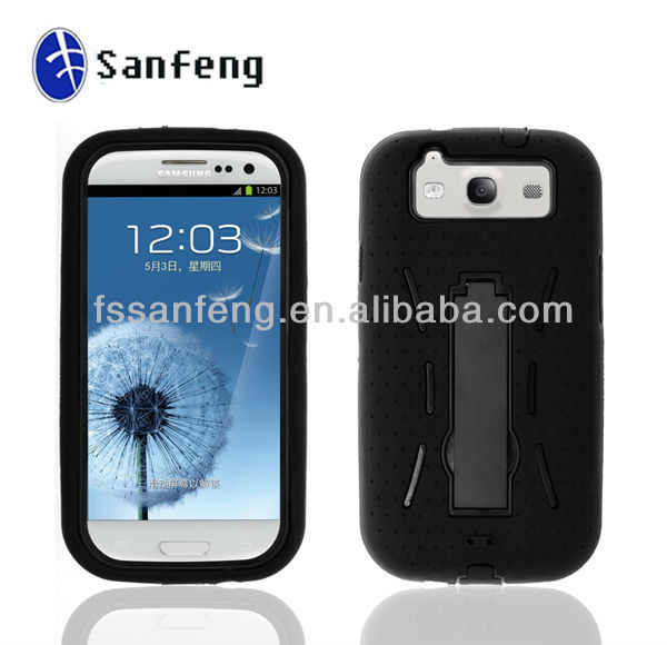 wholesale shock proof phone cover case for samsung galaxy s3 i9300