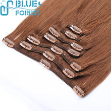 Hot!! Full Head Remy Cheap Price Clip In Human Hair Extensions