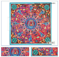 Huichol Yarn Paintig 24
