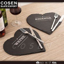 Home Decoration Slate Cold And Hot Food Serving Plate From Cosen