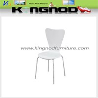 Cheap white bend wood dining chair for sale