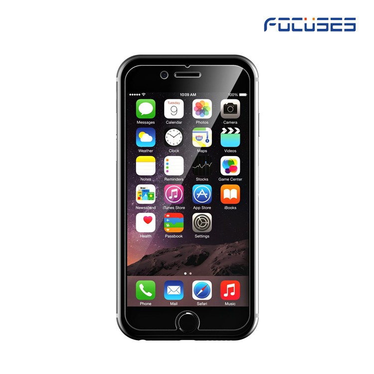 Free sample Anti-shatter Mobile Screen Guard Tampered Glass For iPhone 5 / 6 / 7 / 7 plus Screen Protector factory supply