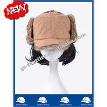ear protection wholesale china manufacture winter warm women acrylic bomber russian hat and cap