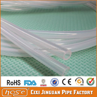 Cixi Jinguan Ozone Resistance Medical Use Transparent Silicone Rubber Tube,Hollow Conductive Silicone Tube,Rubber Silicone Hose