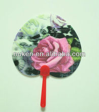 very cool and very fasionable custom made 3d small hand fan from World Class 3D Lenticular Printing Manufacturer