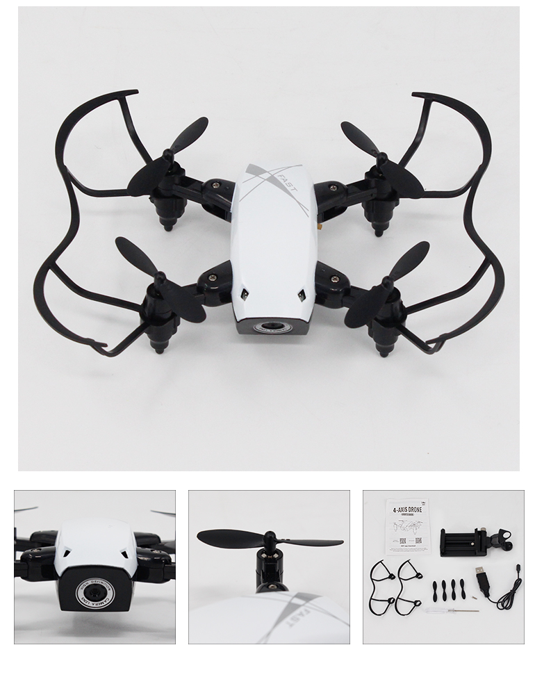popular kids foldable toy wifi rc mini quadcopter pocket drone with camera