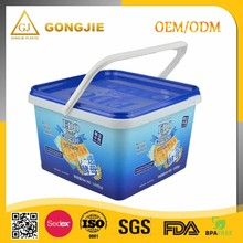 IML PP Plastic Biscuit Box / Plastic Boxes for Cookies, Plastic Cat And Dog Food Storage Pet Food Container