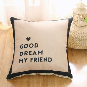Fashion Cotton Linen Throw Cushion Cover Pillow Home Decor for Sofa Bed