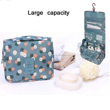 Waterproof Wash Organizer Storage Makeup Pouch women Travel Kit Handbag Toiletry Travel Cosmetic Bag