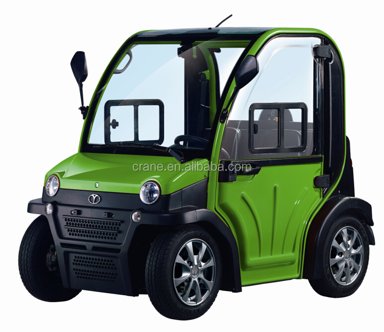 Europe style double seats mini electric car with eec certificate