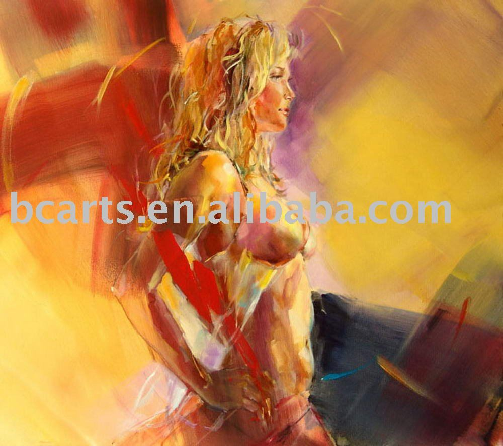 hot sex girls photos picture,Pretty blonde topless body-painted abstract art painting wholesale