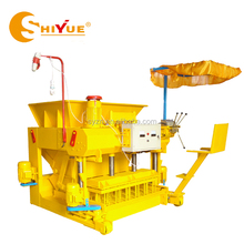 QMY6-25 fly ash mobile block brick making machine
