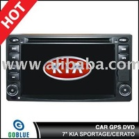 7 inch car dvd player speical for KIA SPORTAGE/CERATO with high resolution digital touch screen ,gps ,bluetooth,TV,radio,ipod