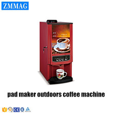 pad maker outdoors coffee machine