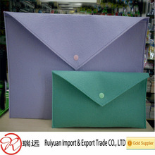 2014 new arrival fancy Colorful Promotional Felt briefcase from RY