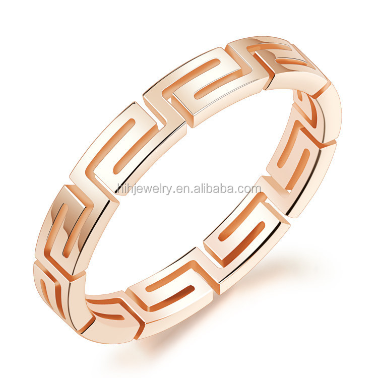 dubai gold ring designs stainless steel great wall pattern women fancy rings smart ring