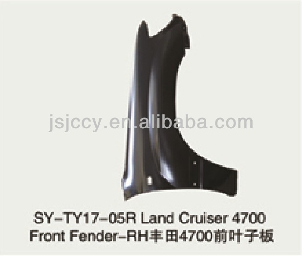 SUYANG IRON PARTS TOYOTA LAND CRUISER 4700 FRONT FENDER